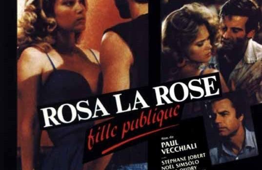 """Affiche du film """"Rosa la rose, fille publique"""""""