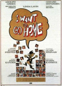 """Affiche du film """"I Want to Go Home"""""""