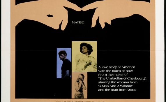 "Affiche du film ""Model Shop"""