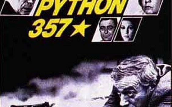 """Affiche du film """"Police Python 357"""""""