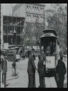"""Affiche du film """"New York, Broadway et Union Square"""""""