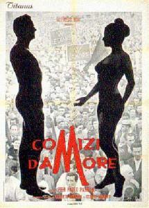 """Affiche du film """"Comizi d'amore"""""""