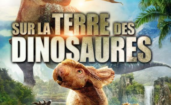 """Affiche du film """"Sur la Terre des Dinosaures"""""""