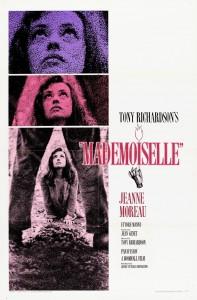 "Affiche du film ""Mademoiselle"""