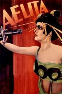 "Affiche du film ""Aelita"""