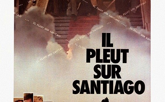 """Affiche du film """"Il pleut sur Santiago"""""""