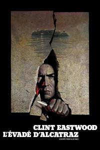 """Affiche du film """"L'évadé d'Alcatraz"""""""