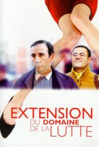 """Affiche du film """"Extension du domaine de la lutte"""""""