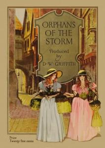 """Affiche du film """"Les Deux orphelines"""""""