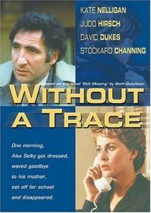 """Affiche du film """"Without a Trace"""""""