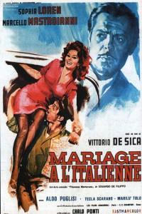 """Affiche du film """"Mariage à l'Italienne"""""""
