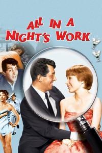 "Affiche du film ""All in a Night's Work"""