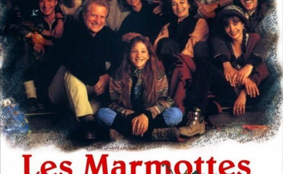 """Affiche du film """"Les marmottes"""""""
