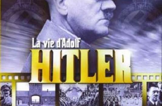 "Affiche du film ""La vie d'Adolf Hitler"""