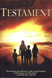 """Affiche du film """"Testament"""""""