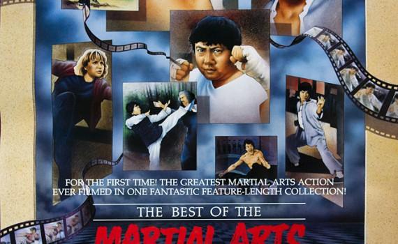 "Affiche du film ""The Best of the Martial Arts Films"""