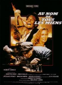 """Affiche du film """"Au nom de tous les miens"""""""