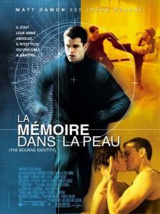 """Affiche du film """"La Mémoire dans la peau"""""""