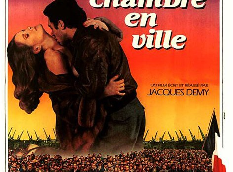 """Affiche du film """"Une Chambre en Ville"""""""