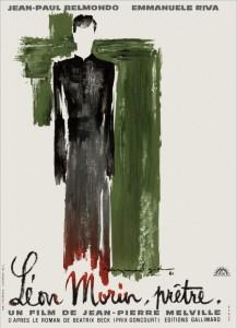 """Affiche du film """"Léon Morin, prêtre"""""""