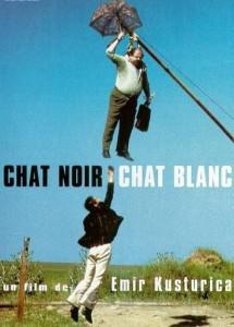 """Affiche du film """"Chat noir, Chat blanc"""""""