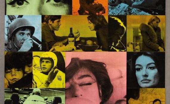 """Affiche du film """"Un homme et une femme"""""""