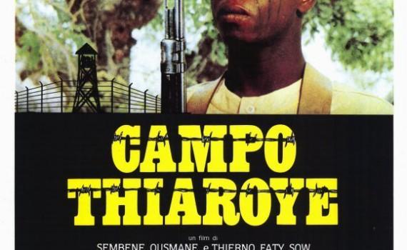 "Affiche du film ""Camp de Thiaroye"""