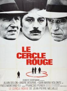 """Affiche du film """"Le cercle rouge"""""""