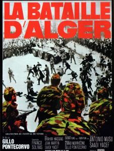 """Affiche du film """"La Bataille d'Alger"""""""
