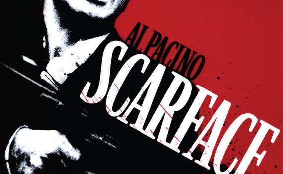"Affiche du film ""Scarface"""