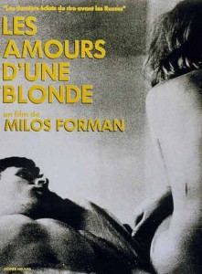 """Affiche du film """"Les amours d'une blonde"""""""