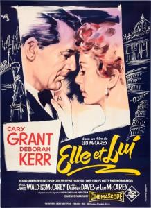 """Affiche du film """"Elle et lui"""""""