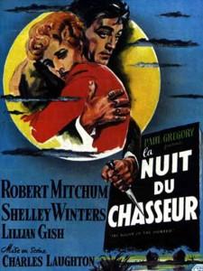 """Affiche du film """"La nuit du chasseur"""""""