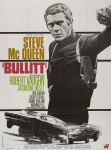 """Affiche du film """"Bullitt"""""""