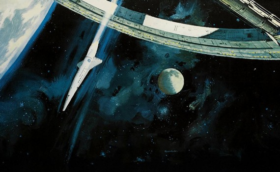 """Affiche du film """"2001 : L'Odyssée de l'espace"""""""