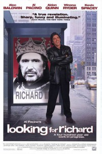 "Affiche du film ""Looking For Richard"""