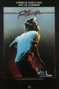 """Affiche du film """"Footloose"""""""