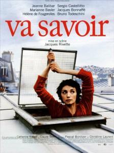 "Affiche du film ""Va savoir"""
