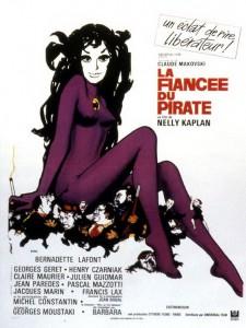 "Affiche du film ""La fiancée du pirate"""