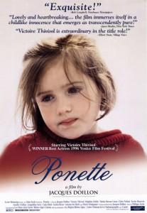 "Affiche du film ""Ponette"""