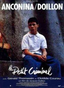 """Affiche du film """"Le petit criminel"""""""
