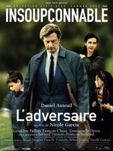 """Affiche du film """"L'Adversaire"""""""