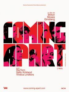 """Affiche du film """"Coming Apart"""""""