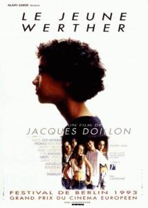 """Affiche du film """"Le jeune Werther"""""""