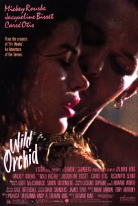 """Affiche du film """"L'orchidée sauvage"""""""