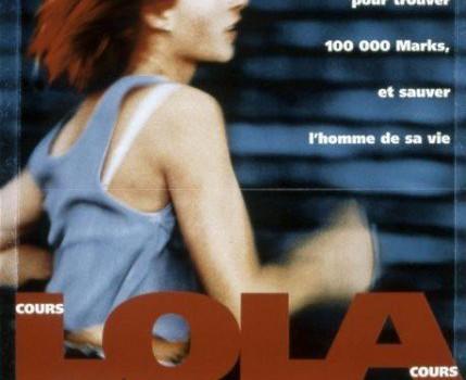 """Affiche du film """"Cours, Lola, cours"""""""