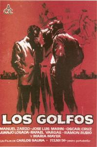 "Affiche du film ""Los golfos"""