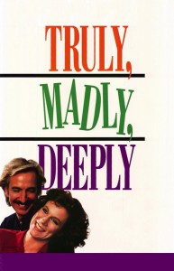"""Affiche du film """"Truly Madly Deeply"""""""