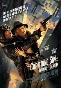 """Affiche du film """"Capitaine Sky et le monde de demain"""""""