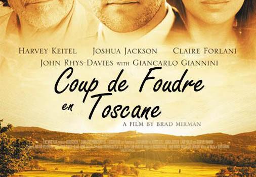 """Affiche du film """"Coup de foudre en Toscane"""""""